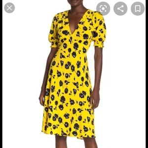 DVF Jemma Floral Print Dress